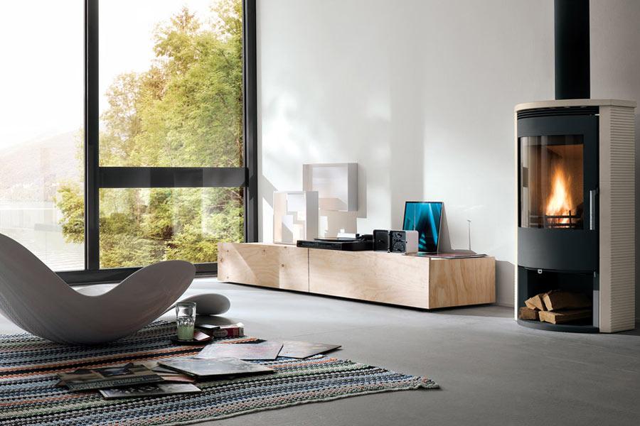 Stufe a legna di qualit scopri le occasioni online - Stufe a legna design ...