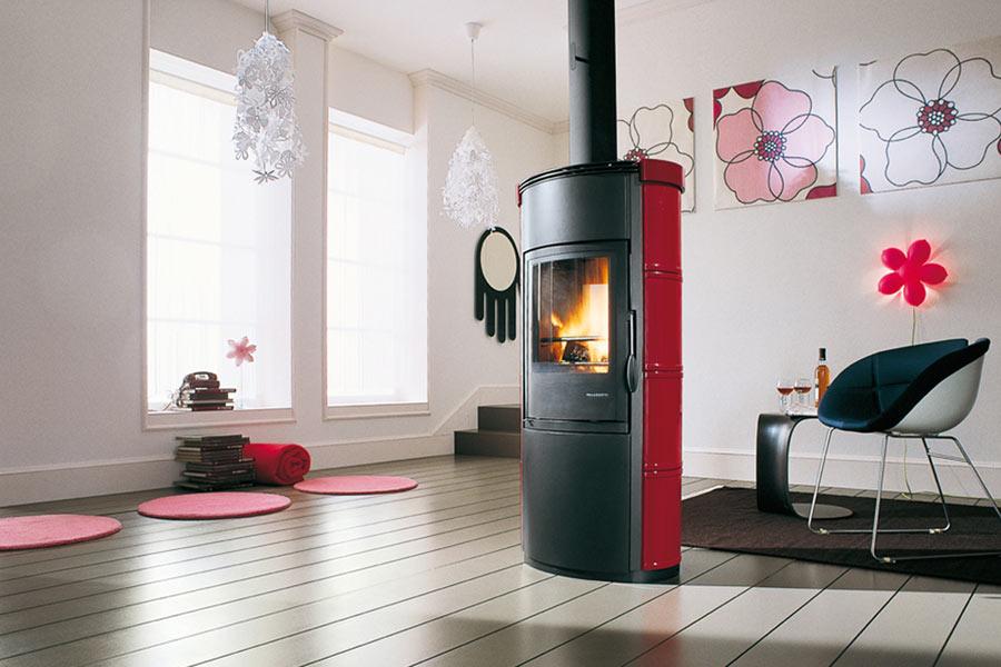 Rivestimenti per stufe a legna installazione climatizzatore - Stufe a legna per riscaldamento termosifoni ...